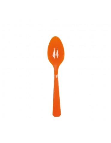 10 Cuillères Orange décoration table de fête