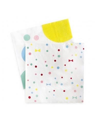 20 Petites serviettes Décoration fantaisie décoration table de fête