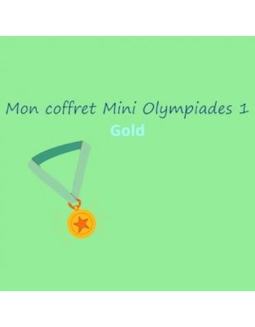 coffret anniversaire Mini Olympiades 1 GOLD