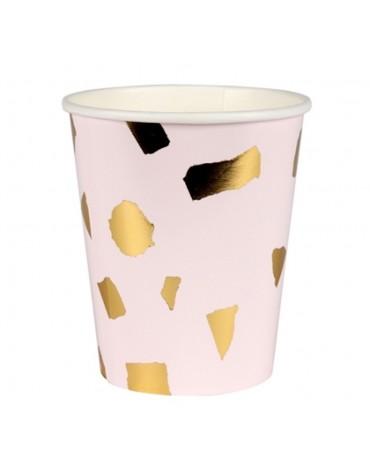 8 Gobelets Confettis Meri Meri décoration table de fête