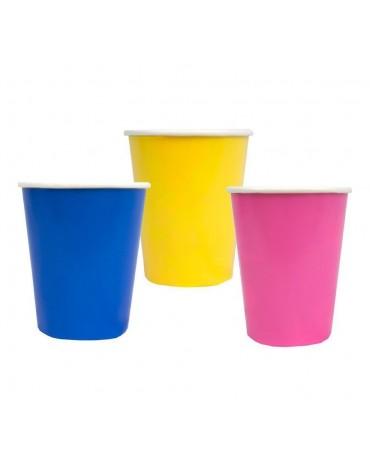 12 Gobelets Colorés Talking Tables décoration table de fête