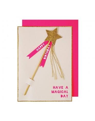 1 Carte postale Baguette Meri Meri
