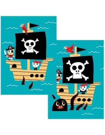 1 Carte postale Une Vie Pirate Cartesdart