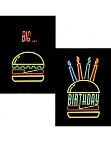 1 Carte postale Big Birthday Cartesdart