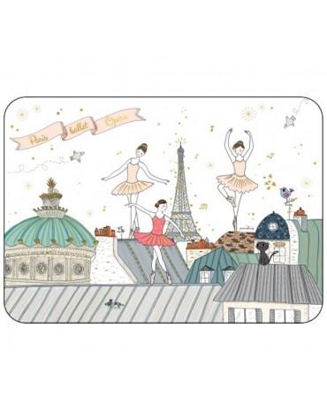 1 Carte postale Danseuse Cartesdart