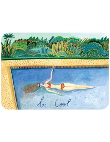 1 Carte  postale Be Cool Cartesdart