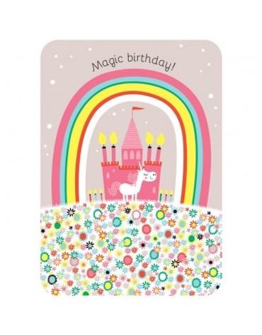 1 Carte postale Magic Brithday Cartesdart