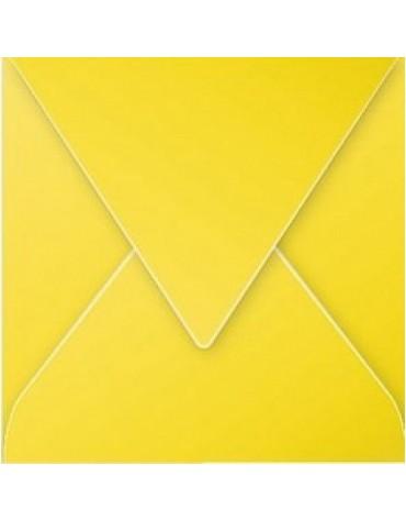 1 enveloppe carrée Jaune 120*120