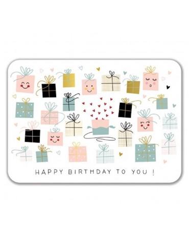 1 Carte postale Happy Birthday To You Cartesdart