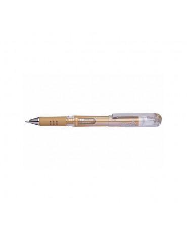 1 stylo encre gel or Metallic