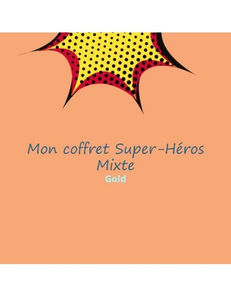 coffret anniversaire super-héros mixte
