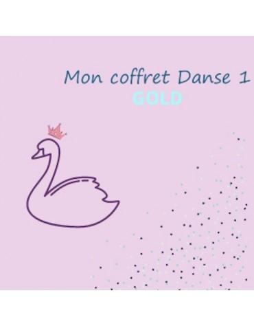 coffret anniversaire enfants thème danse