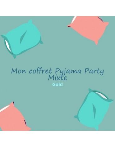 coffret anniversaire ados thème pyjama party mixte