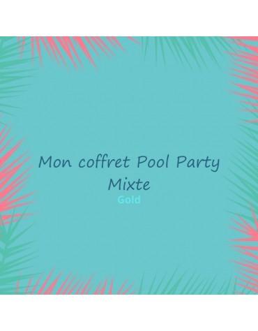 coffret anniversaire thème pool party