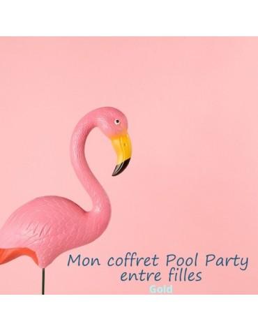 coffret anniversaire thème pool party filles