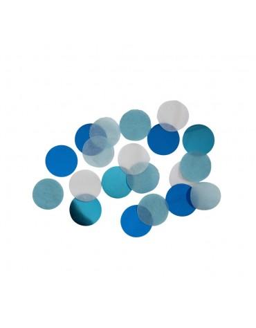 Confettis bleu ciel décoration fête