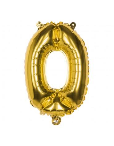 Ballon Mylar Chiffre 0