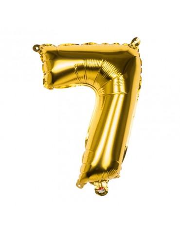 Ballon Mylar Chiffre 7