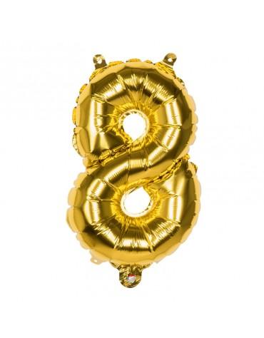 Ballon Mylar Chiffre 8