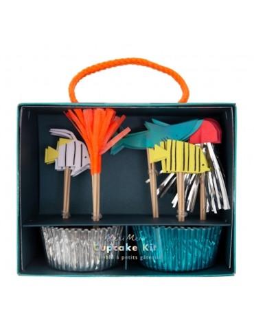 Kit 24 caissettes Cupcakes La Mer