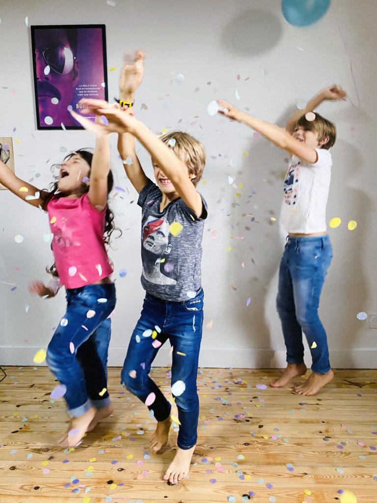 une belle fête aniversaire pour votre enfant