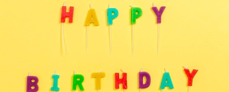 Les bougies d'anniversaire